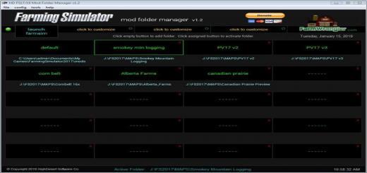 Photo of FS19 – Farming Simulator Mod Folder Manager V1.2