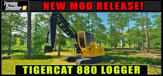 Photo of FS19 – Fdr Logging – Tigercat 880 V1