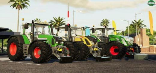 Photo of FS19 – Fendt Weight Pack V1