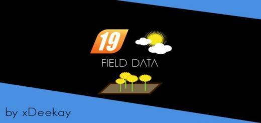 Photo of FS19 – Fielddata Beta V0.0.0.2