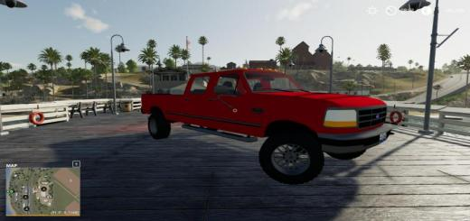 Photo of FS19 – Ford F350 1996 V1