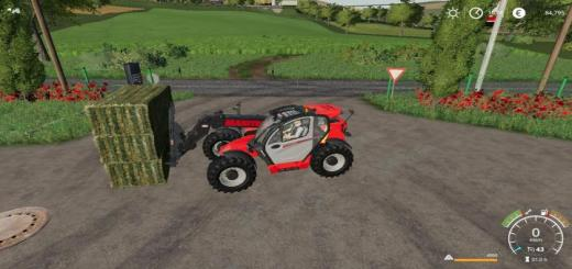 Photo of FS19 – Fourche A 3 Balle Carre Magsi Autoload V1