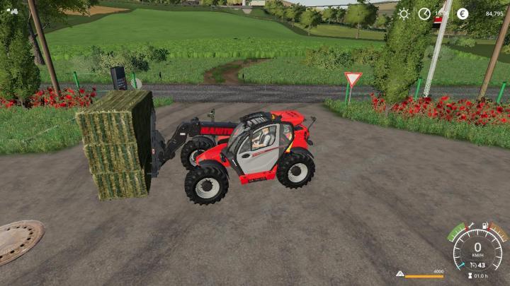 FS19 - Fourche A 3 Balle Carre Magsi Autoload V1