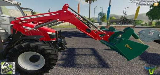 Photo of FS19 – Frontlader-Set By Bonecrusher6 V1.5
