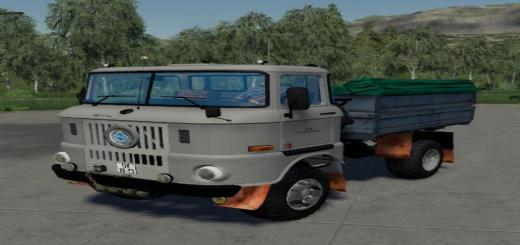 Photo of FS19 – Fs19 Ifa W 50 Getreidekipper V1
