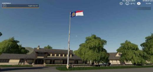 Photo of FS19 – Georgia State Flag V1