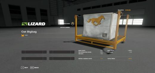Photo of FS19 – Horse Food 40000Lbs V1.0.0.4