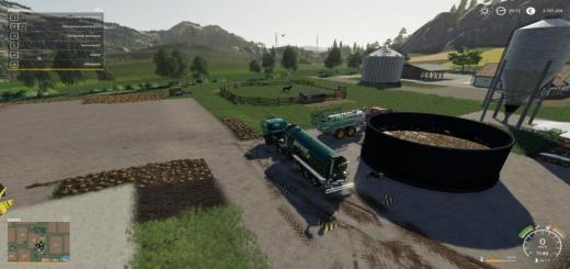 Photo of FS19 – Hot Befullbares Gulle Lager V1