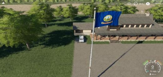 Photo of FS19 – Idaho Flag V1