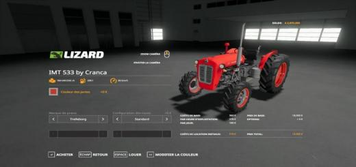 Photo of FS19 – Imt 533 Tractor V1
