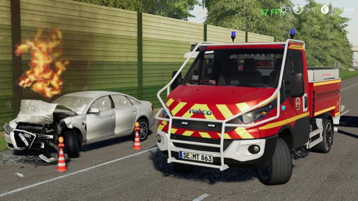 FS19 - Iveco Daily (Firefighter Kaltenkirchen) V1