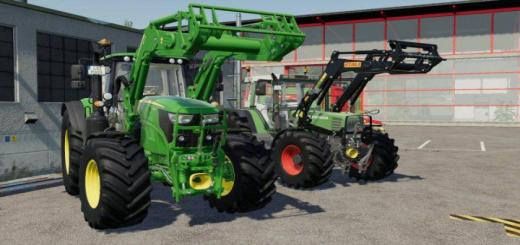 Photo of FS19 – John Deere 643R V1