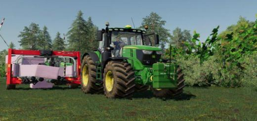 Photo of FS19 – John Deere 6R V1