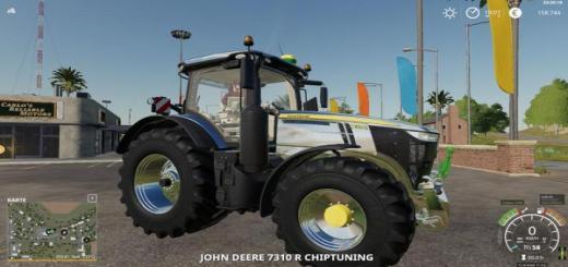 Photo of FS19 – John Deere 7R Chiptuning V1.1