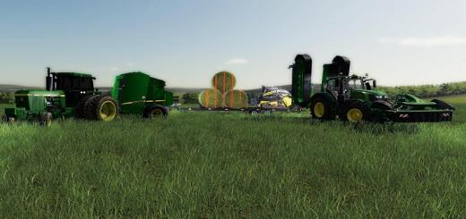 Photo of FS19 – John Deere Equipment Pack V1