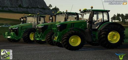 Photo of FS19 – John Deere R-Series Pack V2