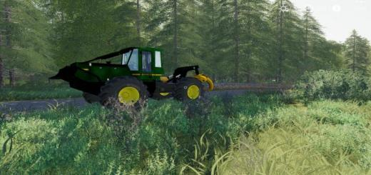 Photo of FS19 – John Deere Skidder V1.1