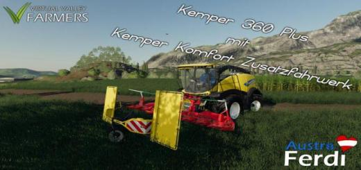 Photo of FS19 – Kemper 360 Plus With Comfort Additional Suspension V1