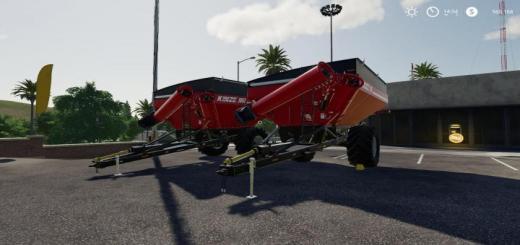 Photo of FS19 – Kinze 851&1051 Grain Cart Colorable V1