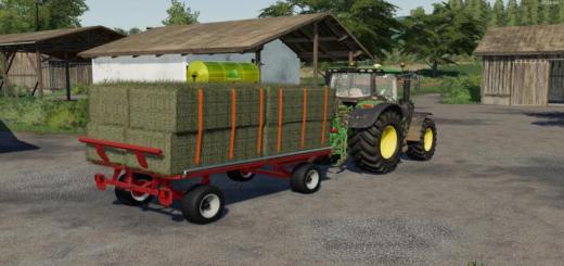 Photo of FS19 – Krone Emsland Ballen Wagon V1