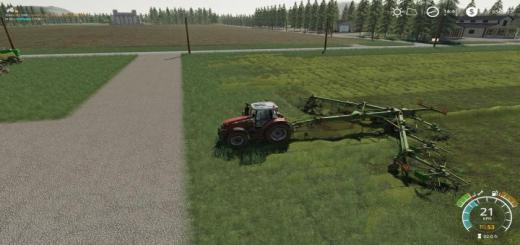 Photo of FS19 – Krone Swadro 2000 V2