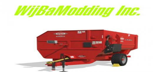 Photo of FS19 – Kuhn Knight Ra 142 V1