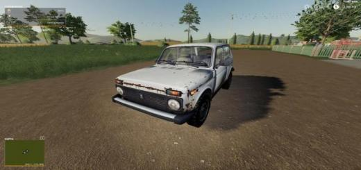 Photo of FS19 – Lada Niva 4X4 V1