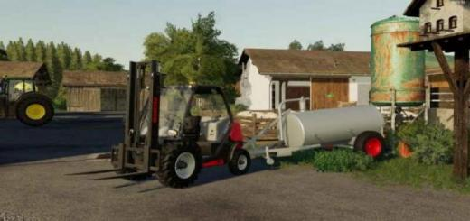 Photo of FS19 – Lizard Water Trailer V1