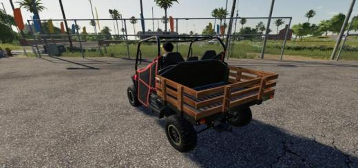 Photo of FS19 – Mahindra Retriever Wooden Stake Bed V1.1