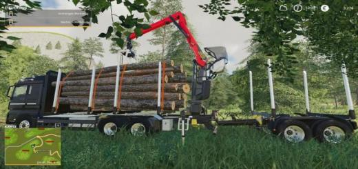 Photo of FS19 – Man Holzlkw V1
