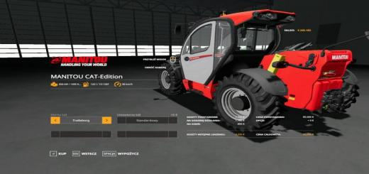 Photo of FS19 – Manitou Cat-Edition V1