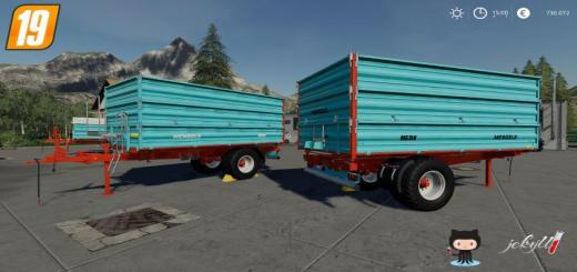 Photo of FS19 – Mengele Medk Single Axle V1