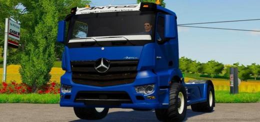 Photo of FS19 – Mercedes Antos 3245 Truck V1
