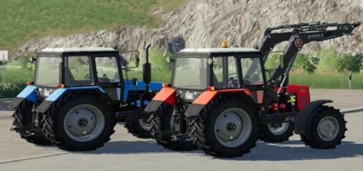 Photo of FS19 – Mtz 1221 Tractor V3