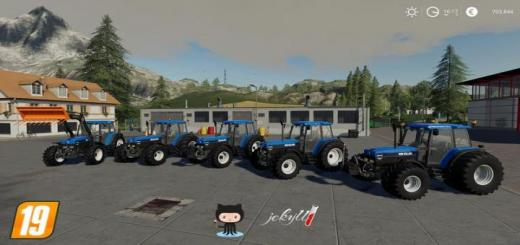 Photo of FS19 – New Holland 40Er Serie V1