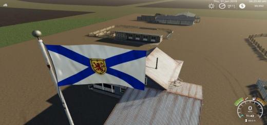 Photo of FS19 – Nova Scotia Flag V1