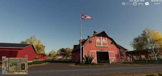 Photo of FS19 – Ohio State Flag V1