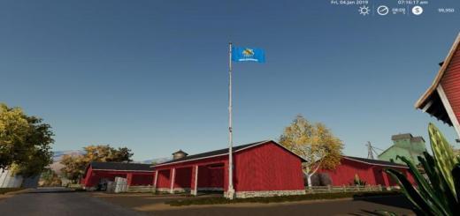 Photo of FS19 – Oklahoma Flag V1