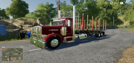 Photo of FS19 – Peterbilt Log Truck V1