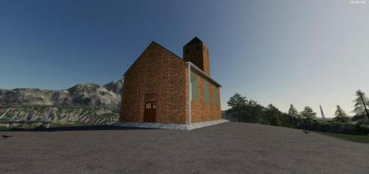 Photo of FS19 – Placeable Churches Objects V1