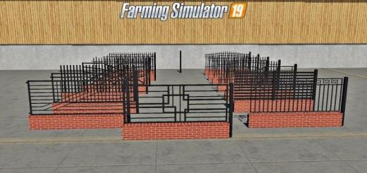 Photo of FS19 – Placeable Fences And Post Pack V1