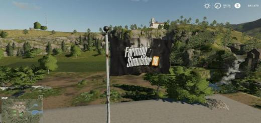 Photo of FS19 – Placeable Flag