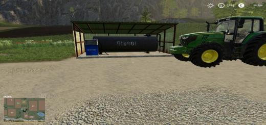 Photo of FS19 – Placeable Fueltank V1