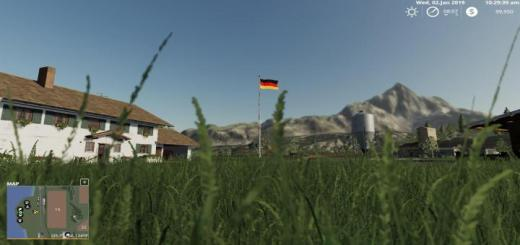 Photo of FS19 – Placeable Germany Flag V1