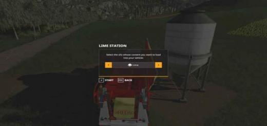 Photo of FS19 – Placeable Lime Station V1