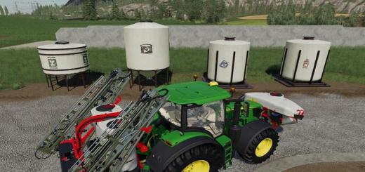 Photo of FS19 – Placeable Refill Tanks V1