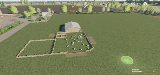 Photo of FS19 – Placeable Sheep Fold V1
