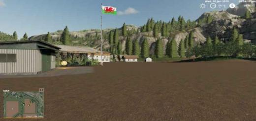 Photo of FS19 – Placeable Wales Flag V1.0.1