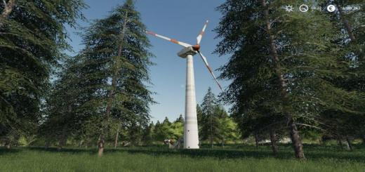 Photo of FS19 – Placeable Wind Turbine Revenue Generator