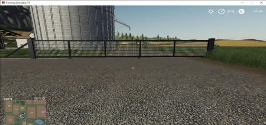 Photo of FS19 – Portail Coulissant V2
